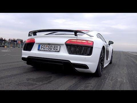900HP Audi R8 V10 Twin Turbo – Top Speed Run!
