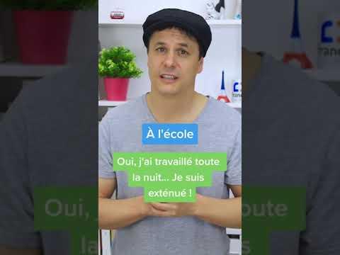 Français à l'École VS Français Réel (2) #Shorts