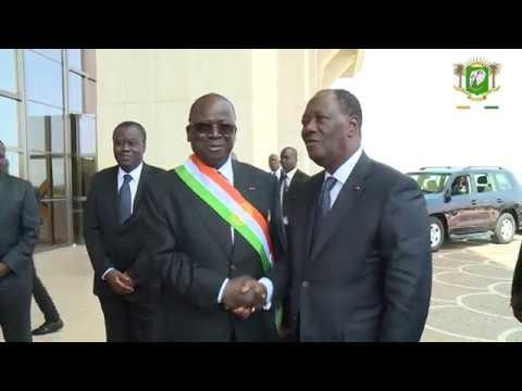 Le Chef de l'Etat a pris part à la rentrée solennelle du Sénat à Yamoussoukro, le jeudi 12 avril