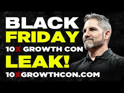 Black Friday 10X Growth Conference LEAK! photo