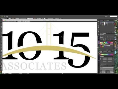 1015 Associates Logo design