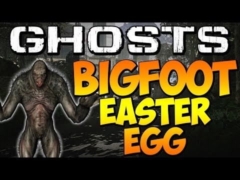 "COD Ghosts - ""SECRET BIGFOOT EASTER EGG"" On PRISON BREAK (Call Of Duty) - Smashpipe Games"