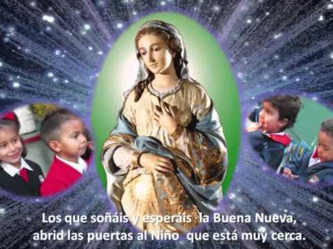 La Virgen sueña caminos