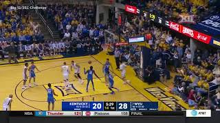 West Virginia vs Kentucky Men's Basketball Highlights
