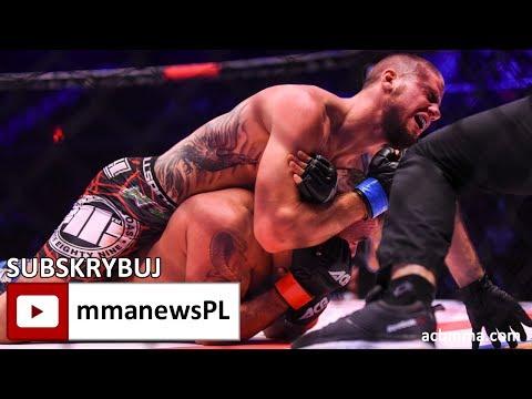ACB 63: Paweł Kiełek złamał palec podczas wygranej walki z Ireneuszem Szydłowskim
