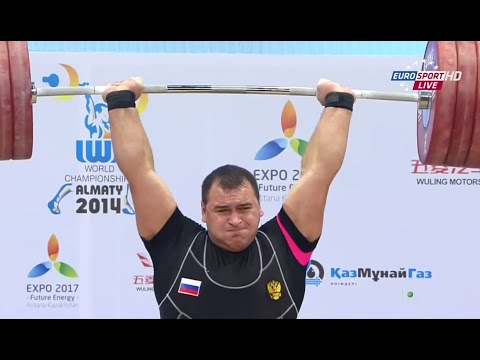 2014 World Weightlifting Championships +105 kg Men (CLEAN & JERK) \ Чемпионат мира мужчины