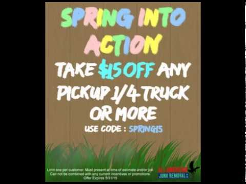 Spring Into Action & Enjoy $15 OFF Any Pickup 1/4 Truck or More