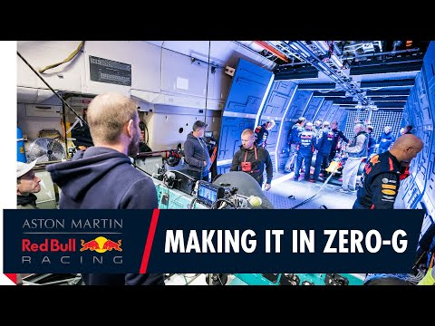Making It In Zero-G | The Story Behind Aston Martin Red Bull Racing's Zero Gravity Pit Stop