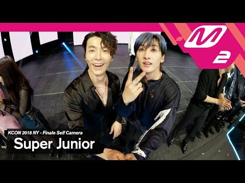 [KCON2018NY x M2] 슈퍼주니어(SUPER JUNIOR) Ending Finale Self Camera