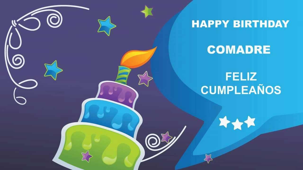 Feliz Aniversário Comadre: Happy Birthday