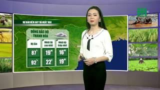 VTC14 | Thời tiết nông vụ 25/02/2018 | Khu vực Thanh Hóa- Hà Tĩnh mưa rào và tăng dần nhiều nơi