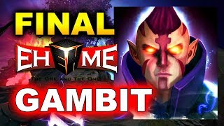 GAMBIT vs EHOME - GRAND FINAL - BUCHAREST MINOR DOTA 2