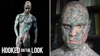 School Teacher Tattoos His Entire Body   HOOKED ON THE LOOK