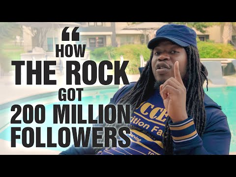 How The Rock Got 200 Million Followers