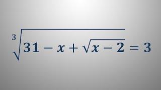 Iracionalna enačba 8