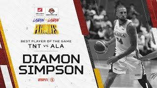 Best Player: Diamon Simpson   PBA Commissioner's Cup 2019 Quarterfinals