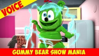 "Reversed ""Gummerish"" Backwards Talk Revealed! - Gummy Bear Show MANIA"