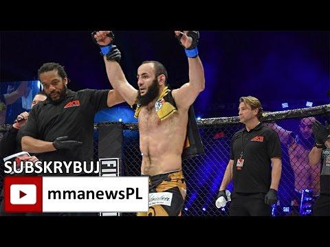 ACB 54: Aslambek Saidov po jednogłośnym zwycięstwie w Manchesterze (+wywiad)