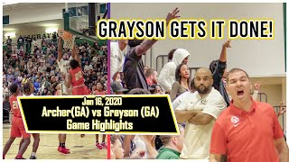 GRAYSON holds on for the 1POINT WIN against ARCHER and becomes battle-tested during the dub.