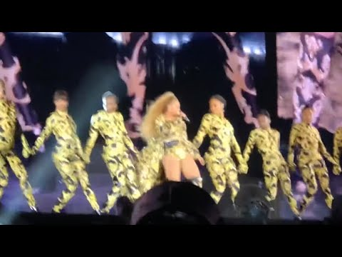 """Apeshit Live - Beyonce & Jay Z """"The Carters"""""""" - On The Run 2 Tour - Chicago Soldier Field"""