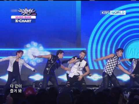 [Music Bank K-Chart] Kim HyunJoong & 2PM & TVXQ (2011.7.1)