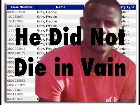 He Did Not Die in Vain - The Freddie Gray Report - May 1, 2015