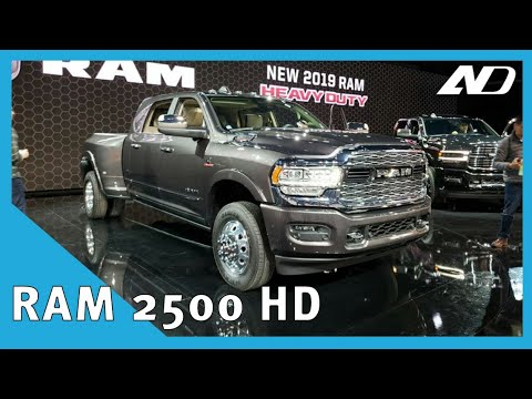 Ram 2500 HD - 1000 lb-pie de torque y la cabina más lujosa | NAIAS2019