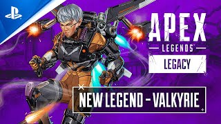Apex Legends - Valkyrie Character Trailer - PS5, PS4