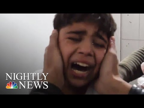 Hundreds Killed Near Damascus In Bombing Campaign By Syrian Government | NBC Nightly News