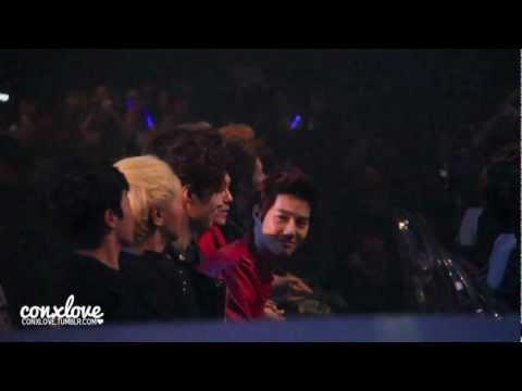 [MAMA 2012 121130 - Fancam] EXO During B.o.B's
