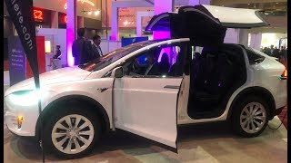Tesla Model X 75 D 360 Degrees Walk Around the Car Gullwing Doors