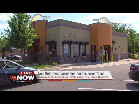 Taco Bell giving away free Doritos Locos Tacos