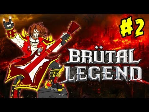 brütal legend - ep. 2 - playthrough fr hd par bob lennon