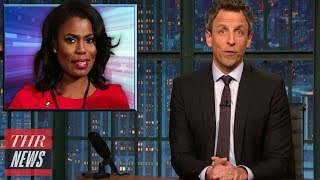 Late-Night Hosts Take Aim at Omarosa After White House Exit | THR News
