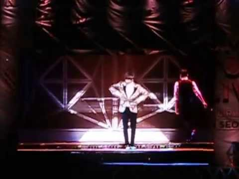 Dancing Liner Solo stage (eunhyuk, lay, luna, sehun , hyoyeon, kai) 140815 live in seoul