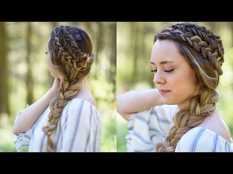 Double Dutch Side Braid | DIY | Back to School Hairstyle | Cute Girls Hairstyles