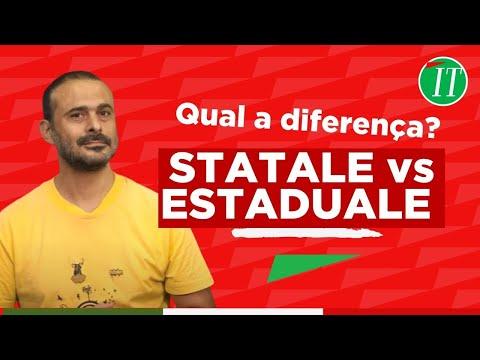 STATALE vs ESTADUALE