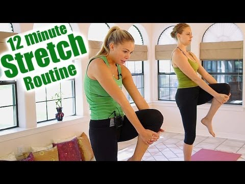 12 minute stretch routine for back pain relief