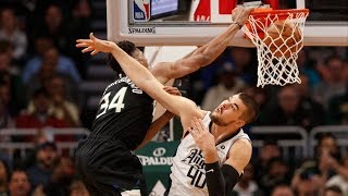 Giannis Dunks on Zubac! Bucks Dominate Clippers! 2019-20 NBA Season