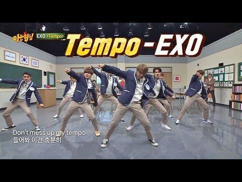 (멋짐 뿜뿜↗) 어디에도 없을 'EXO'의 'Tempo'♪ 무대 아는 형님(Knowing bros) 159회
