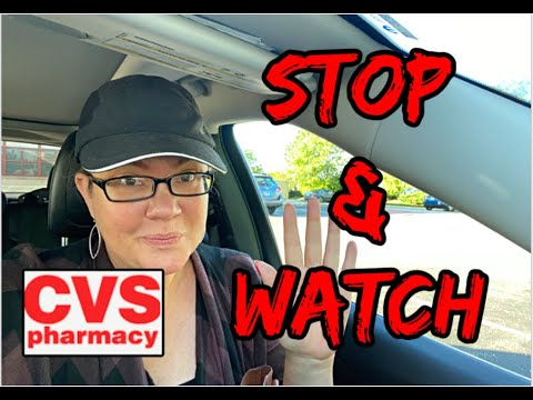 CVS STOP & WATCH 🛑 VIDEO | GOOD & NOT SO GOOD UPDATES! 👀