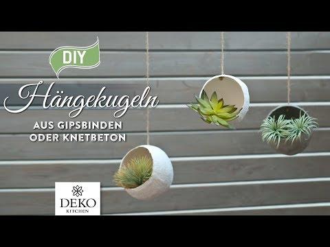DIY: coole Hängekugeln für Pflanzen selbermachen [How to] Deko Kitchen