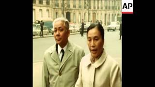 SYND 8 4 71 VIETNAM PEACE TALKS