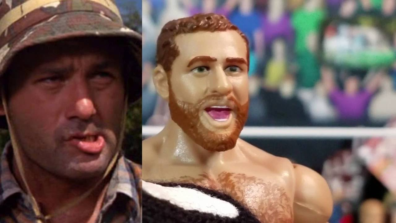 SAMI ZAYN WWE Elite Series #40 Action Figure Review