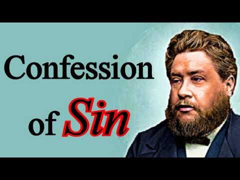 Confession of Sin - Charles Spurgeon Audio Sermons