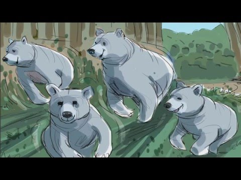 The Making of the Center Parcs TV Advert 2015 - Bears