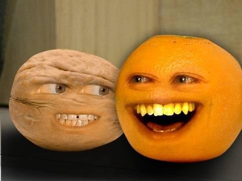 Annoying Orange Going Walnuts YouTube
