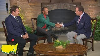 Tiger Woods' Interview In Butler Cabin