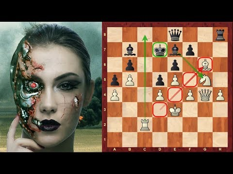Outrageous Chess AI: (Game 9) : Classic effective strategy against Classic French defence downsides