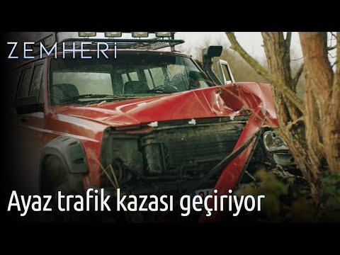 Zemheri - Ayaz Trafik kazası Geçiriyor